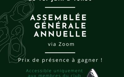 Assemblée générale annuelle 2021